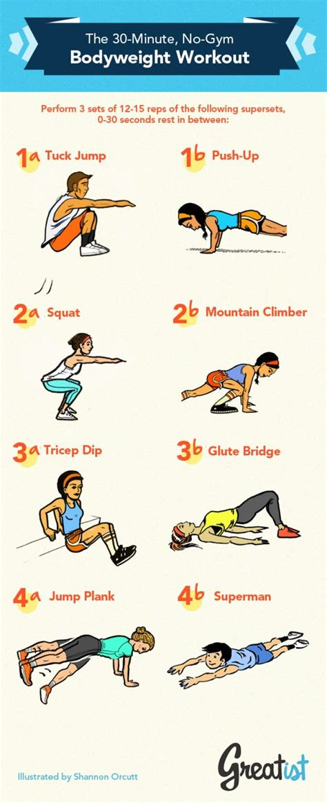 30 minute no bodyweight workout workout and