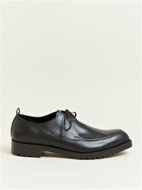comme des garcons mens shoes comme des gar 231 ons mens commando sole shoes in black for