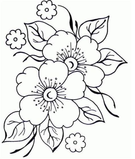 imagenes de rosas hermosas para dibujar imagenes de flores lindas para colorear flores