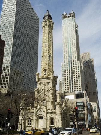 historic water tower   john hancock center