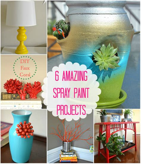 spray paint projects 6 awesome spray paint projects