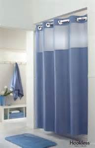 hookless fabric shower curtain no more hooks