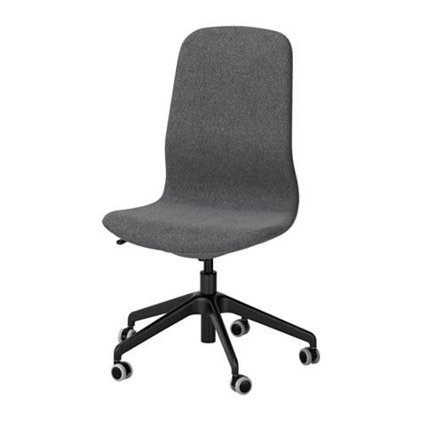 chaise grise ikea l 197 ngfj 196 ll chaise pivotante gunnared gris fonc 233 noir ikea
