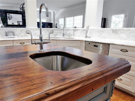 best kitchen counter tops hgtv s best kitchen countertop pictures color material