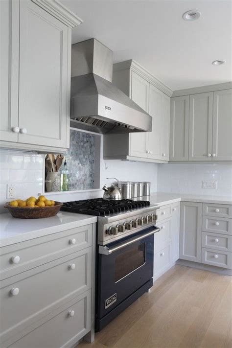 painting kitchen cabinets light gray ben moore brushed aluminum gray paint light gray
