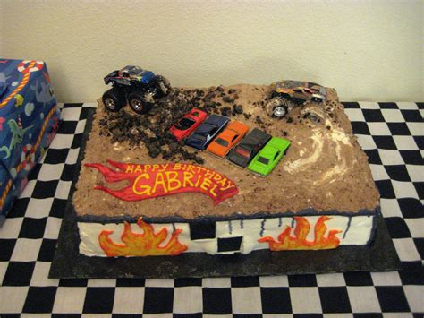 monster truck jam videos for kids monster truck cakes decoration ideas little birthday cakes