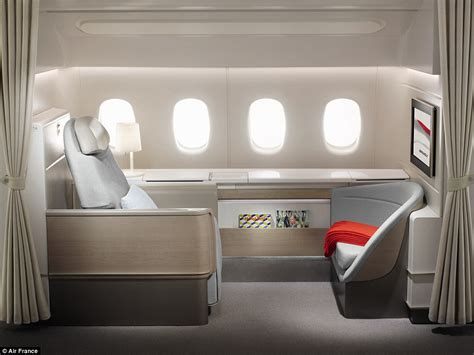 air class suites boast wardrobe hd tv and chairs daily mail