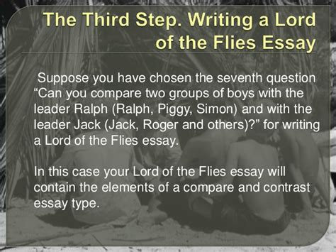 Lord Of The Flies Piggy Essay by Of The Flies Essay