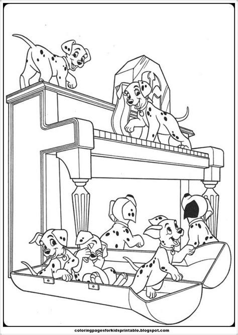 101 dalmatians coloring pages 101 dalmatians coloring pages printable