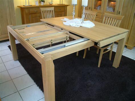 tisch querauszug esstisch tisch adraton mit querauszug seitlichem auszug