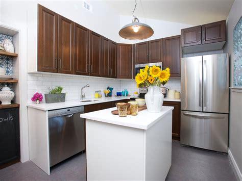 walnut kitchen cabinets modern photos hgtv