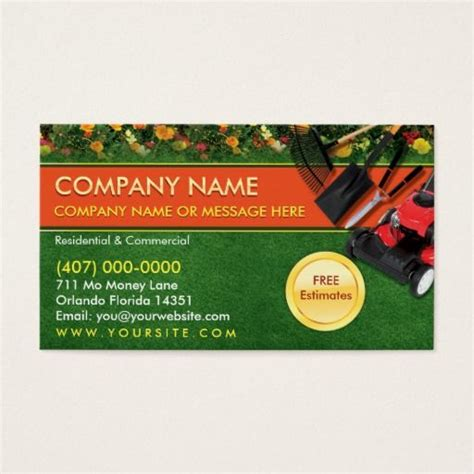 135 Best Images About Landscaping Business Cards On Landscaping Business Cards