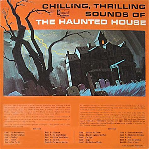 Chilling Thrilling Sounds Of The Haunted House by Recordo Obscura The Soundtrack Of Nobody S Chilling Thrilling Sounds Of The Haunted House