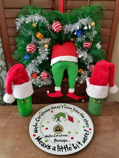 grinch christmas ideas grinch crafts and diy decorations up leap of faith crafting