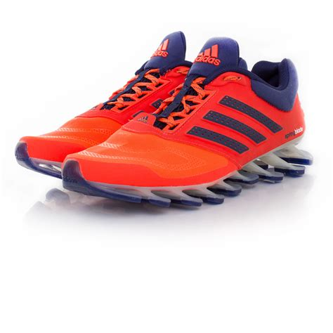 adidas springblade drive 2 mens orange running sports shoes trainers ebay