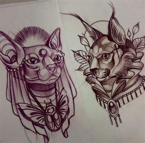 egyptian cat tattoo designs 1000 ideas about neo traditional on tattoos