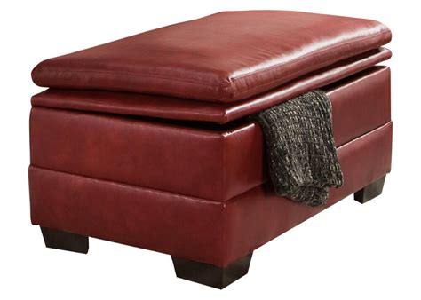 red cocktail ottoman unbeatable value furniture chicago indianapolis the
