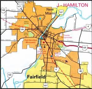 Hamilton Ohio Map by Cities Hamilton