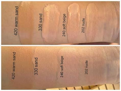 Nyx Bb By Sheena Store rimmel match perfection foundation swatches in warm sand