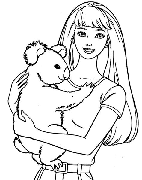 face coloring pages barbie face coloring pages kids