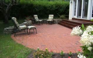 Brick Patios Designs Semi Circle Brick Patio New Brick Patio