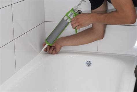 bathroom tub caulk how to caulk like a pro