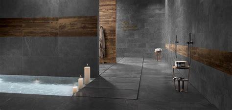 piastrelle ardesia gres porcellanato effetto pietra stonework ardesia nera