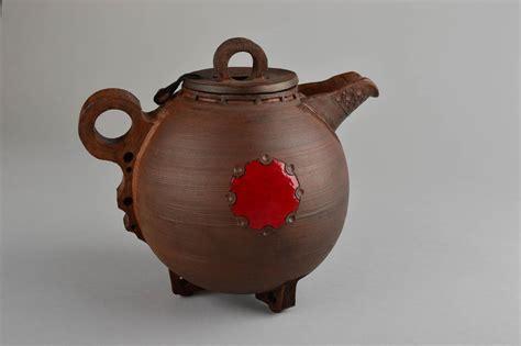 Handmade Pots Design - madeheart gt handmade ceramic teapot clay teapot