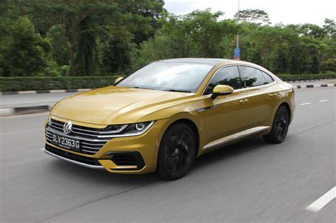 volkswagen singapore volkswagen arteon 2 0 tsi r line 2018 review
