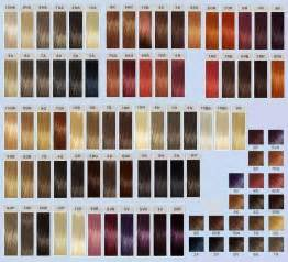 matrix so color chart goldwell top chic swatches goldwell color