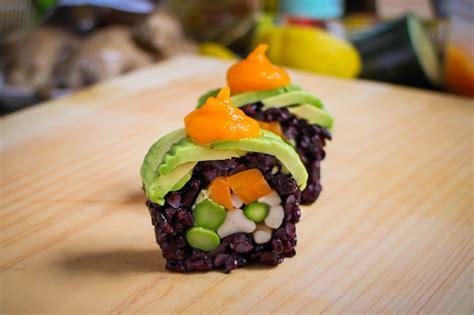 Sushi Kitchen Vegetarian Japanese Food Vegan Sushi Roll Recipe Amazing Vegan Food Recipe