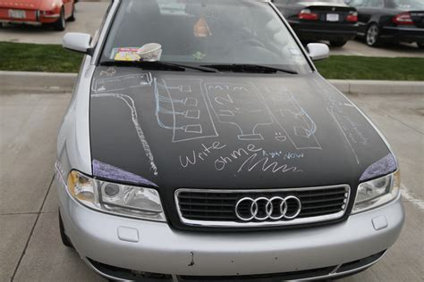 chalkboard painting a car apparently painting your car with chalkboard paint is a thing