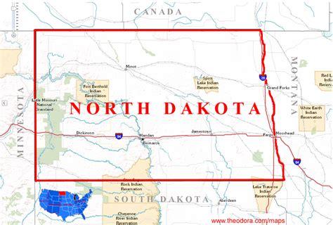 dakota on us map dakota geography map swimnova
