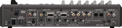 Roland Edirol Vr 3ex Mixer Roland Vr 3ex Audio General Inc