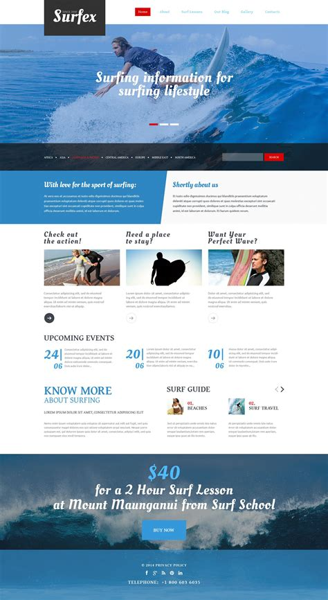 drupal themes overview surfing responsive drupal template 54965