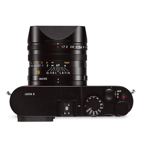 Leica Q Typ 116 Black Fulset Leica Q Typ 116 Black Anodized Park Cameras