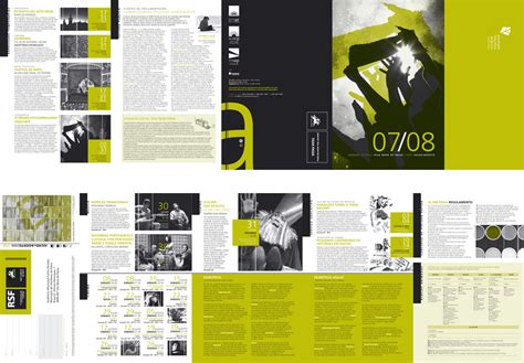 indesign layout view cultural agenda by v l at coroflot com