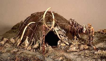 hutte en os de mammouth la pr 233 histoire le pal 233 olithique les premi 232 res cabanes