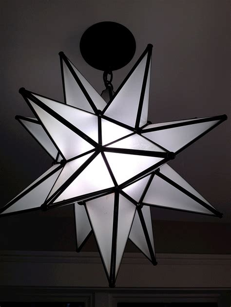 light fixture moravian