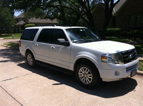 ford expedition third row seat sell used ford expedition 2011 el xlt 4wd third row seats
