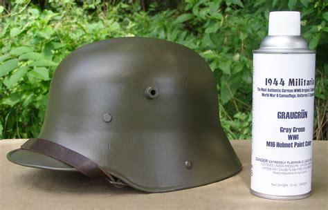 spray paint helmet german wwi graugr 252 n m16 helmet spray paint helmet is not
