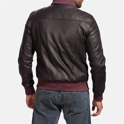 Bomber Leather by Mens Upscale Black Leather Bomber Jacket