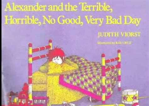 days bad days books and the terrible horrible no bad