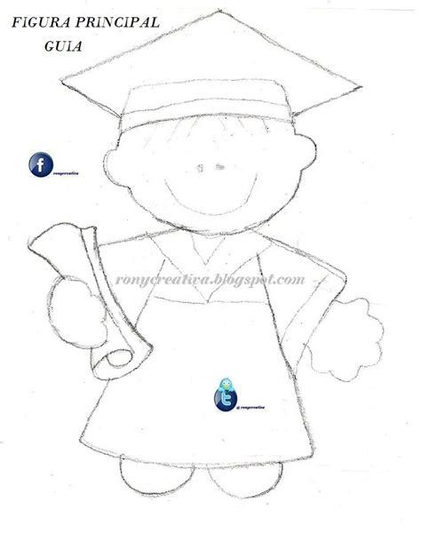 moldes tarjetas de graduacion ronycreativa blog graduados de foamy o goma eva