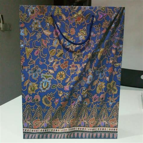 Paper Bag Batik I Paper Bag Tali dotdot 2828 s items for sale on carousell