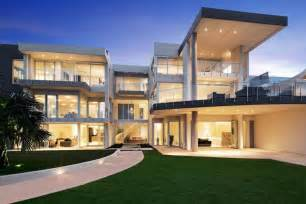 contemporary mansion floor plans contemporary style waterfront mansion in new south wales