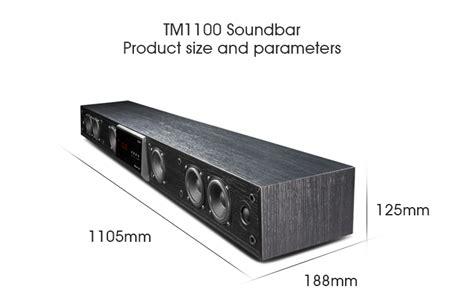 cav tm sound bar home theater surround sound system