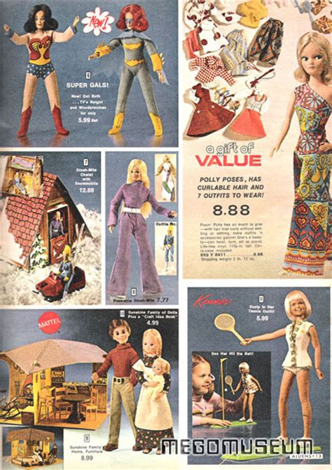 Mego Library Department Store Christmas Catalogs Mego