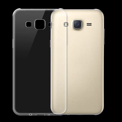 Samsung Galaxy J7 Bepak Clear Transparant Back Cover ultra thin tpu back cover for samsung galaxy j7 transparent free shipping dealextreme
