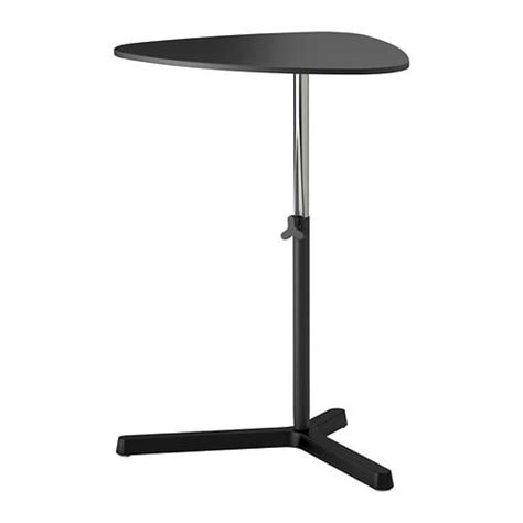svart 197 sen laptop stand black ikea